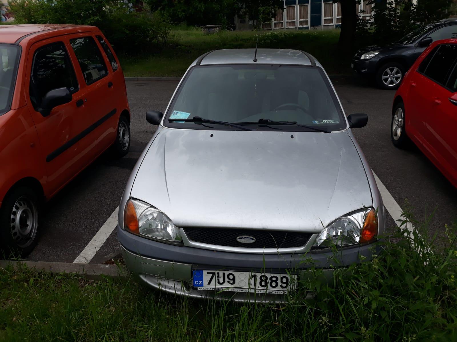 Osobní automobil zn. Ford Fiesta Jas