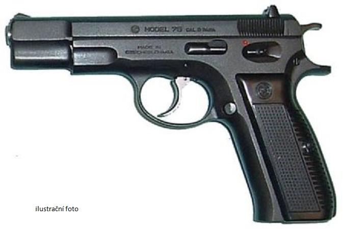 Pistole samonabíjecí- 2 kusy