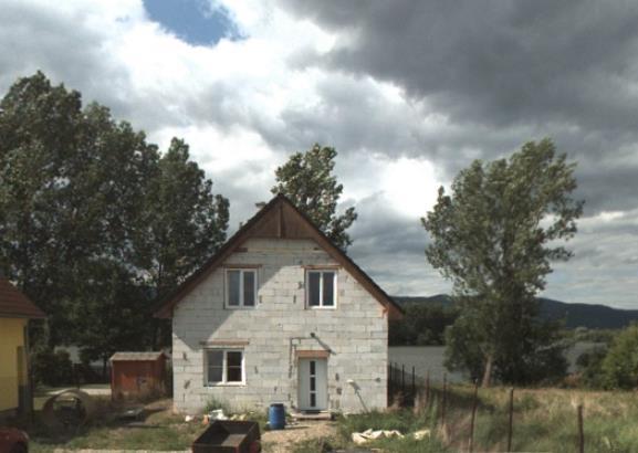Rozestavěná stavba- rekreační domek Srbice